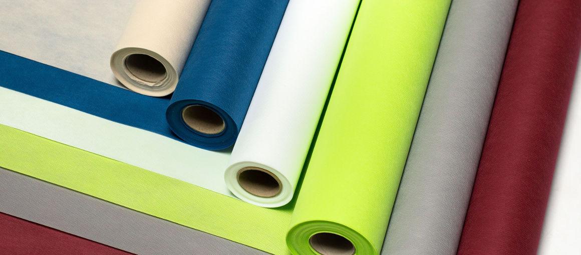 Vlies Tischdecken in vielen Farben