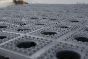 Oberflächenstruktur - Pyramidennoppen (7 x 7 mm)