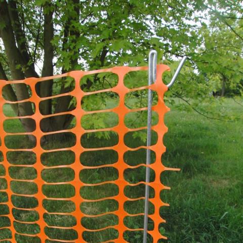 Kunststoff Bauzaun-Absperrzaun-orange-Baustellenzaun-LIGHT_4993