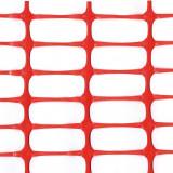 Kunststoff Bauzaun LIGHT, Absperrzaun 110g/m², 1 x 50m, orange