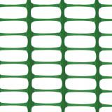 Kunststoff Bauzaun LIGHT, Absperrzaun, 110g/m², 1 x 50m, grün