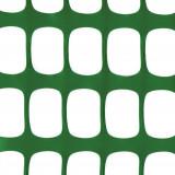 MEDIUM PLUS Absperrzaun grün, 1 x 50m sowie 10 Premium Stahlstangen
