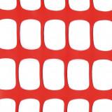 MEDIUM PLUS Absperrzaun, Kunststoff Bauzaun, 200g/m², 1,2 x 50m, orange