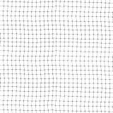 Vogelschutznetz, Teichnetz, Laubnetz 2 x 50m (12 x 14mm) schwarz