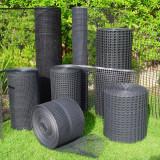 Treeguard Baumschutz-Gitter auf der Rolle, flexibler Verbissschutz, 1,2m x 50m, schwarz