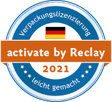 Verpackungslizensierung - activated by Reclay 2021